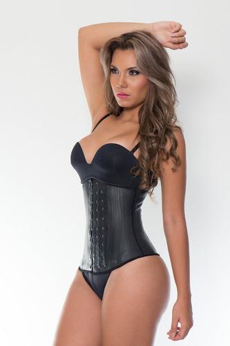 faja látex reductora moldeadora corset gym