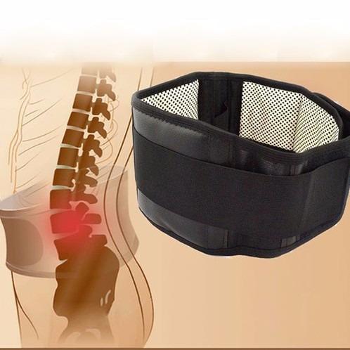 faja lumbar con imanes y turmalina - terapia magnética