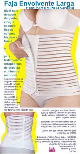 faja modeladora postparto ideal liposuccion motherfit
