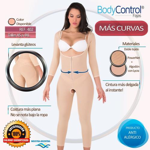 faja modeladora reductora postquirurgica body control 0402