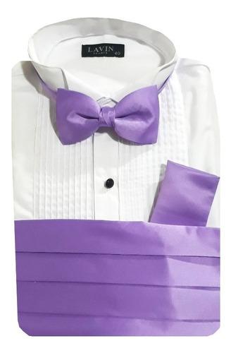 faja, moño y pañuelo para caballero en todos los colores.