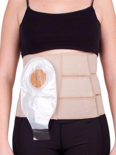 faja ortopedica abdominal para colostomia de 9  tru-life