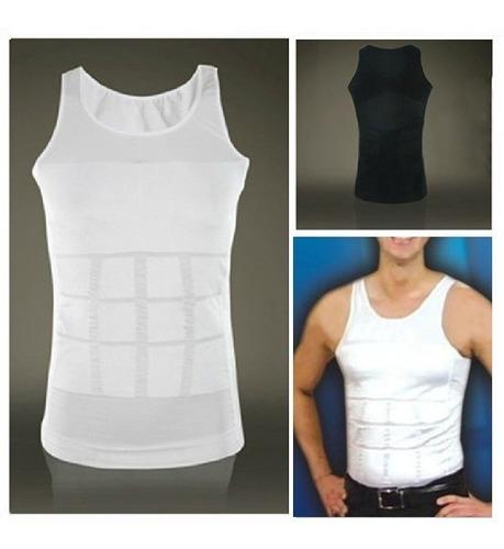 faja para hombre tipo camiseta bividí moldeadora de cuerpo