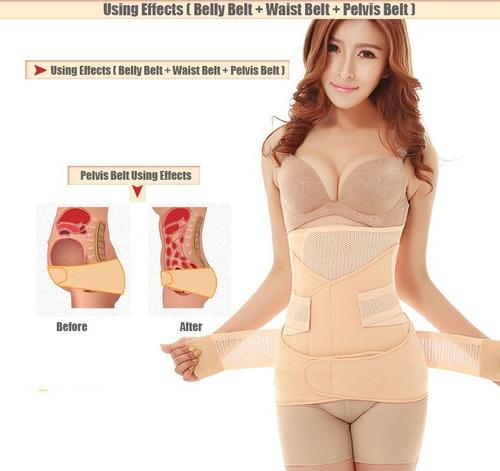faja posparto cinturón abdominal del vientre/abdomen
