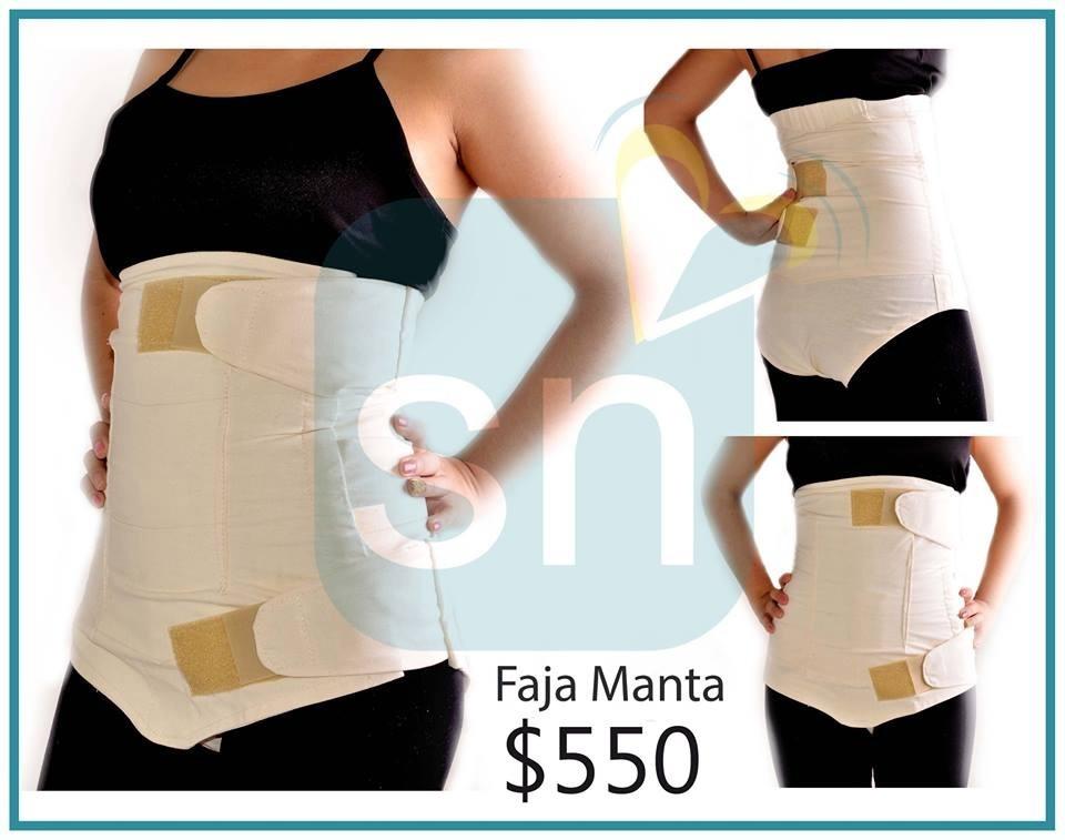 ede92598d Faja Postparto De Manta Y 2 Brasieres De Lactancia -   950.00 en ...