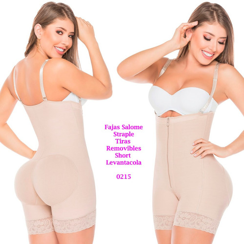 faja reductor short levantacola postparto lipo straple 0215