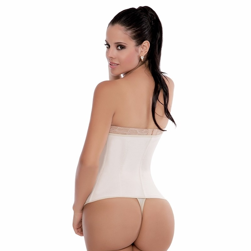faja reductora blanca para vestido de novias fiestas ideal!! - $ 499