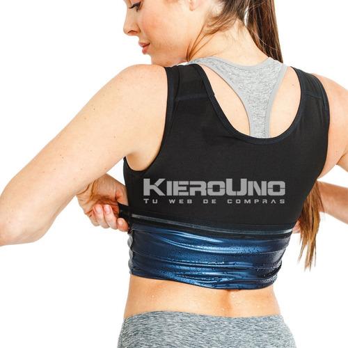 faja reductora camiseta compresión bajar peso quema grasa