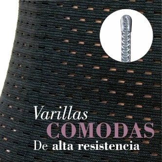 faja reductora cinturilla modeladora corte colombiana mujer
