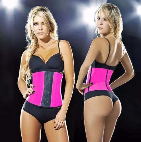 faja reductora en latex,corsets, tallas. m,l