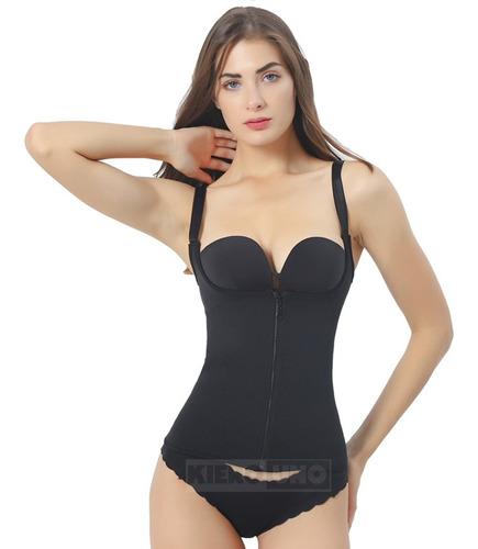 faja reductora musculosa corset y cierre térmica kierouno