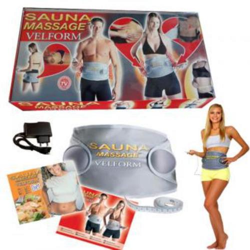 faja sauna massage vibracion + sauna