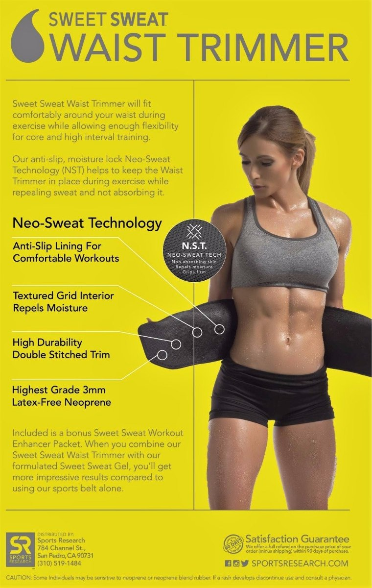 ea54cb620de faja sweet sweat premium waist trimmer for men   women. Cargando zoom.
