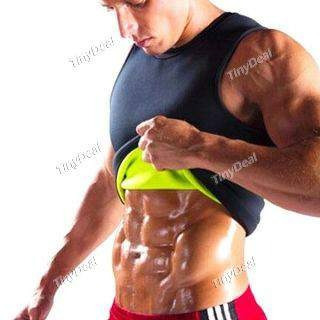 faja termica abdominal for men or woman hot shaper