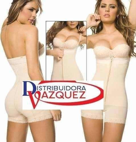 faja termica latex body colombiana adelgazante, moldeadora..