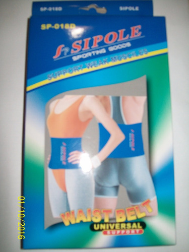 faja termica modeladora reductora abdominal unisex neoprene