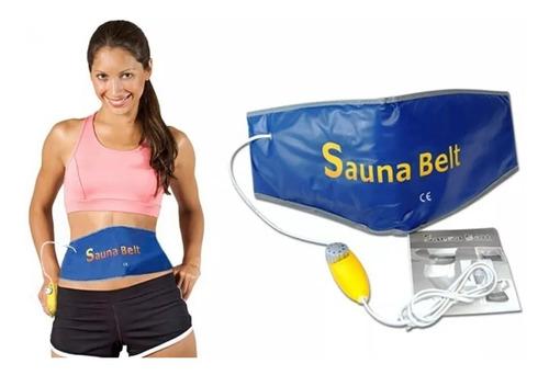 faja termica sauna belt reductora suda control temperatura
