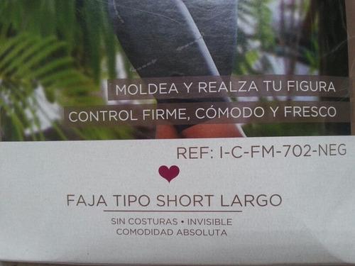 faja tipo short largo - intima by didijin (talla xl)