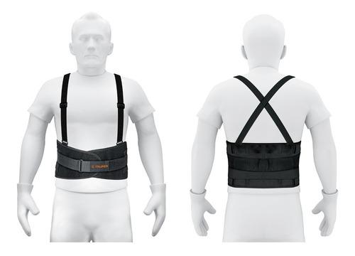 faja tirantes y cinturon ajustables mediana truper a14216