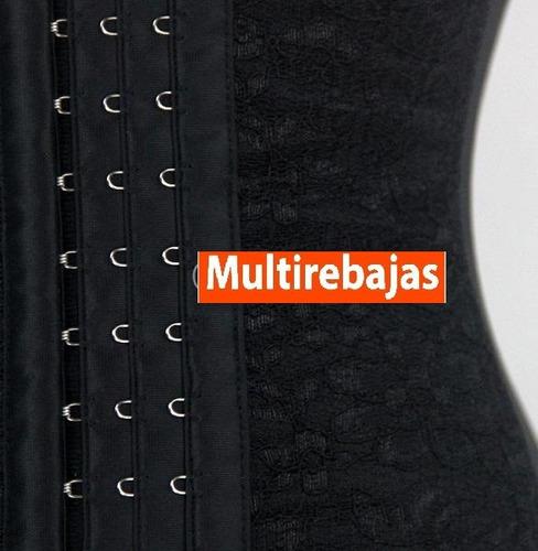 faja tres niveles modeladora - cinturilla *** oferta del mes