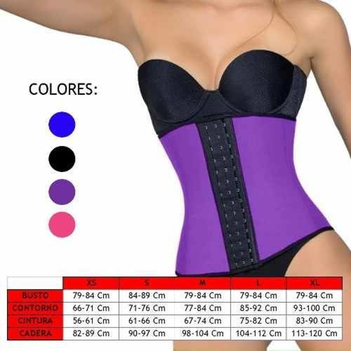 faja,cinturilla,corsets moldea,latex, reduce medidas calidad