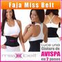 Faja Miss Belt Genie Hour Cintura De Avispa S,m,l,xl
