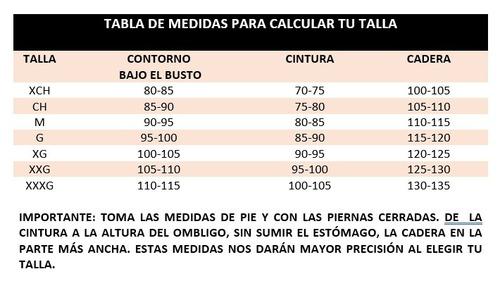 fajas colombianas ann chery ingrid 5176 baja compresión lipo