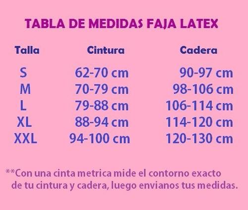 fajas latex post parto normal-post cesarea reduce cintura