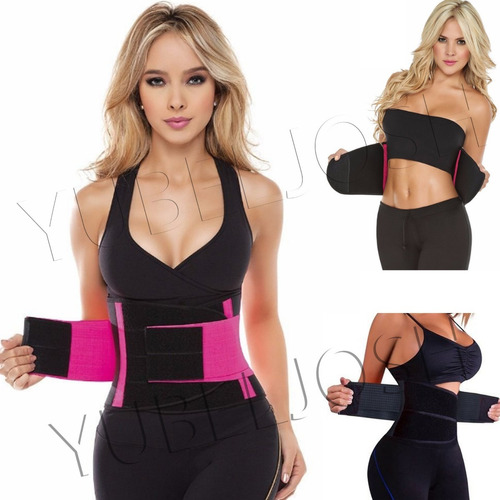 fajas tecnomed 100% original cinturilla reductor gym fitnes