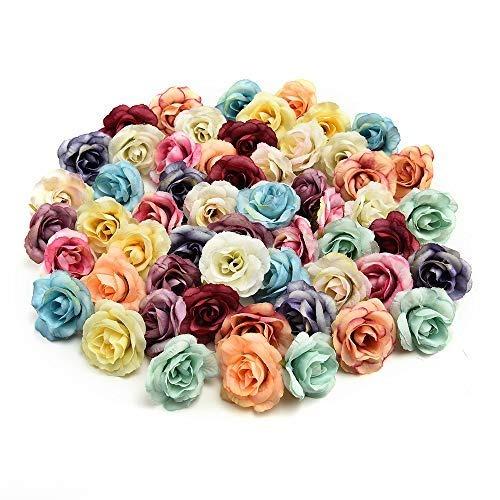 Fake flowers heads bulk handmade mini artificial silk rose fake flowers heads bulk handmade mini artificial silk rose mightylinksfo