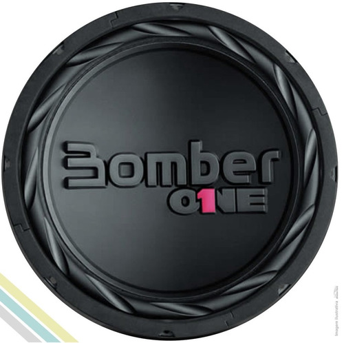 falanete subwoofer 12'' 200w rms bomber one b simples 4 ohms