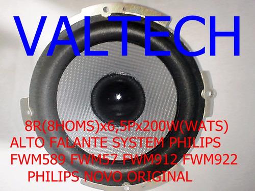 falante fwm57 fwm589 8r 6,5 polegadas 200w philips novo