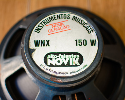 falante novik wnx 150w instrumentos musicais para guitarra