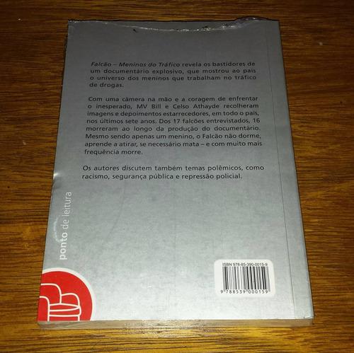 falcão meninos do tráfico - mv bill celso athayde livro novo