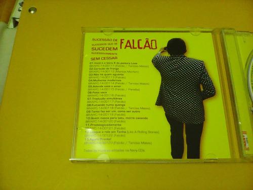 falcão - sucessão de sucessos que sucedem -  cd