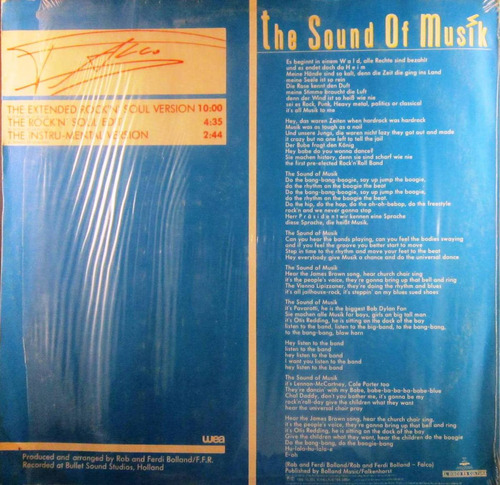 falco - the sound of musik single lp
