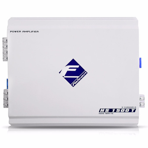 falcon módulo amplificador hs1500 td 180w rms 3 canais