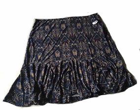 179cd9b20 Faldas De Moda Ala Rodilla - Faldas Azul al mejor precio en Mercado ...