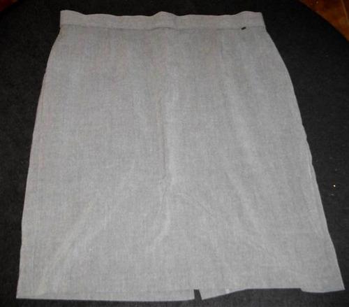 falda briggs new york talla extra 16/38 ropa modateista 3w21