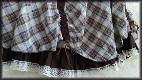 falda circular para dama