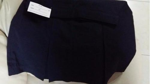 falda colegia dos tachones (nueva) talla 12