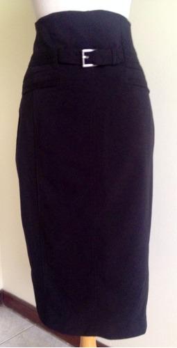 falda color negro importada talla 8.