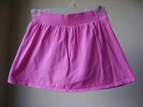 efffdce905 Falda Con Short Integrado Color Rosa Talla 10-12 Niña Fn69