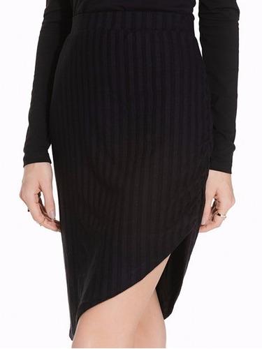falda corta negro divided moda