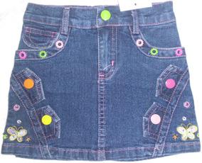 2645d0c5e Falda De Blue Jeans Stretch Talla 5 Ropa Bebe Niña