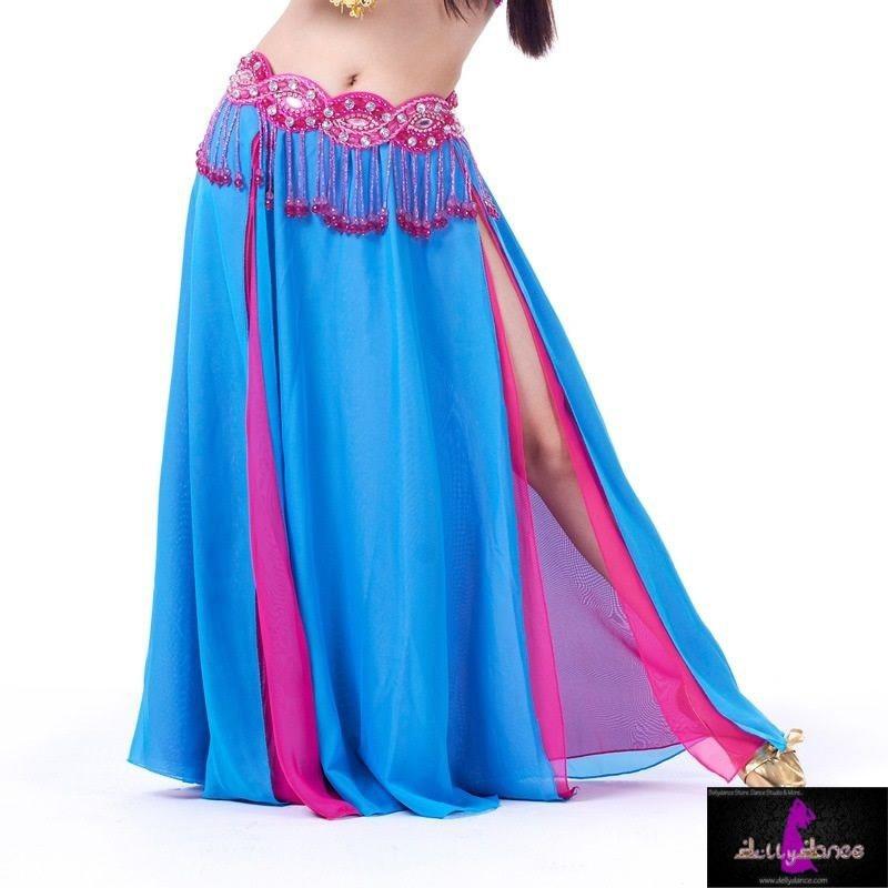 e1d15c2d1 Falda De Chiffón Estilo Libanés Para Danza Arabe Bellydance