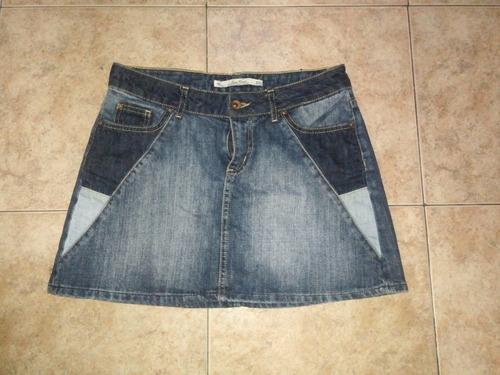 falda de jean