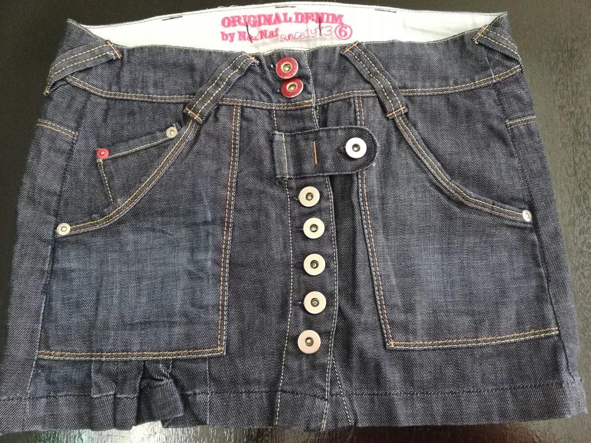 1fcdd43a8ad7 Falda De Jeans Para Damas Naf Naf - Bs. 15.000,00