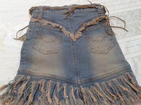 13b3456427 Falda De Jeans Para Niña Talla 8 Es Strech. Con Cinturon