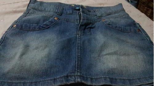falda de jeans para niñas